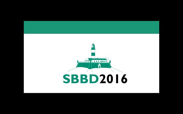 SBBD 2016
